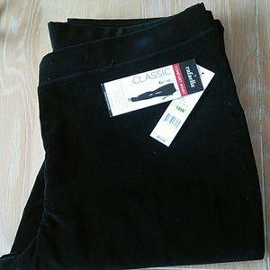 Rafaella classic black pant